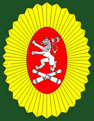 Znak Česko-Slovenske asociace přátel vojenské historie
